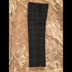 Ann Taylor LOFT Plaid pant Size 0